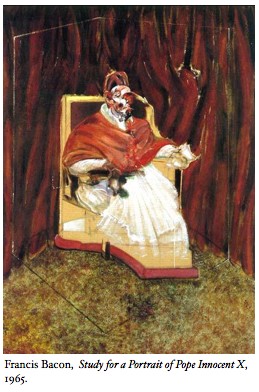 Study for a Portrait of Pope Innocent X, 1965