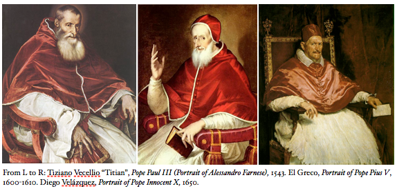 Historical Pope Paintings