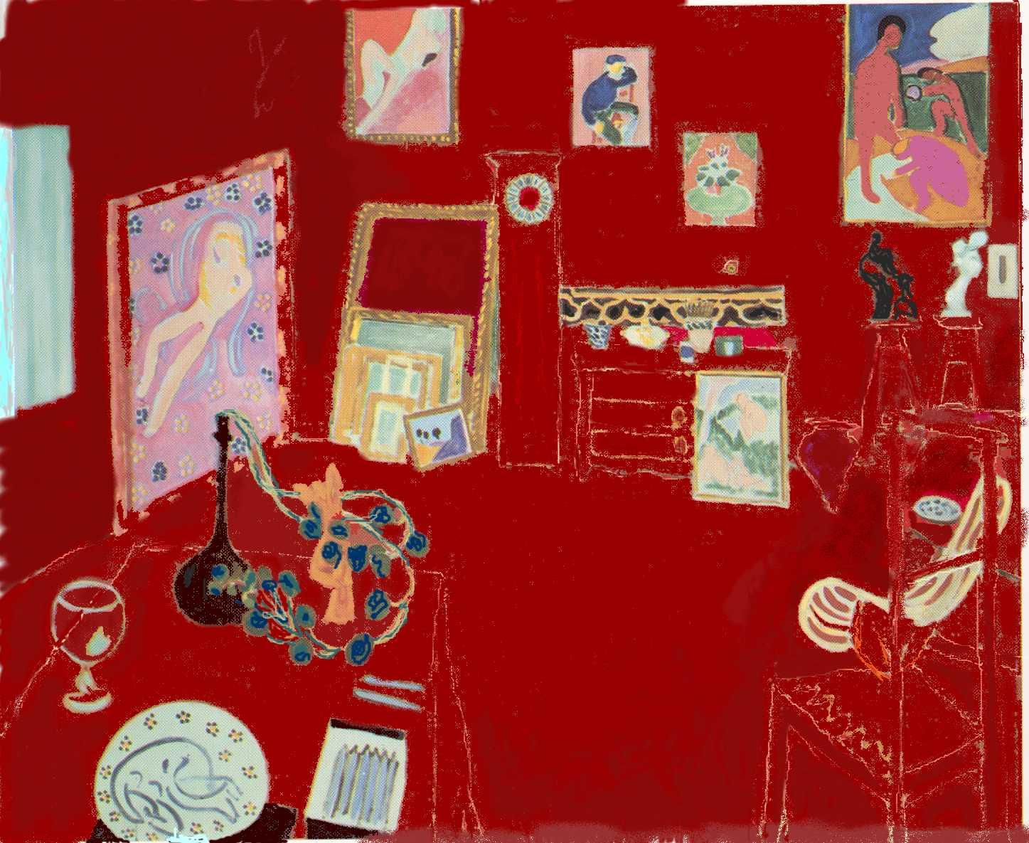 the-red-studio-henri-matisse | Imagine Zero