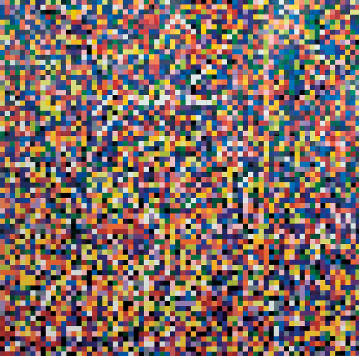 Gerhard Richter, 4900 Farben, 2007680 cm x 680 cmEnamel on Alu DibondCatalogue Raisonné: 902