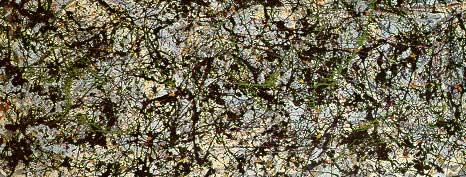 Jackson Pollock's Lucifer painting